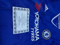 Signed Chelsea Shirt signed by Antonio Conte