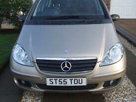 Mercedes A170 Classic SE 1.7 5dr h/b, Dec 2005, 86,000 mls FSH £1,,450 ono