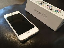 iPhone 5s silver great condition