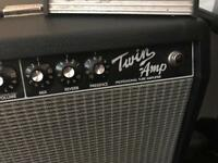 Fender 'twin amp' 100w tube amp