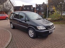 2003 Vauxhall Zafira 2.0 dti diesel 7 seater excellent condition with tow bar