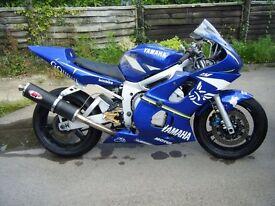 Yamaha R6 Trackday bike