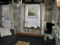 Mousehole Cornwall. Lovely two bedroom cottage only around 30 yards from the beach