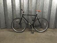 British Duke Python single speed or fixie bike - Black. Free accessories!