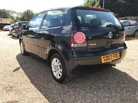 Volkswagen polo 1.4 automatic 2007 petrol 3 dr black hpi clear full service part Ex welcome