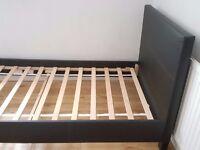 Hygena Constance Single Bed Frame in Black (Argos)