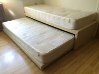 QUALITY JOHN LEWIS NEWTON SINGLE GUEST BED