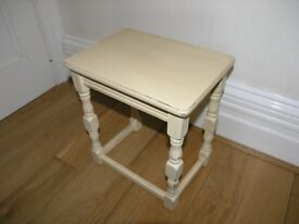 Small Coffee / Occasional Table Shabby Chic Farrow and Ball