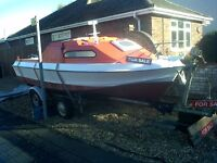 Forsale boat and trailer £1800 or swaps
