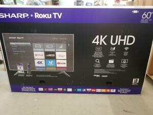 LIQUIDATION SHARP 60PO SMART 4K - GARANTIE - INCROYABLE 499.99$