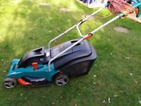 Bosch Rotak 430 electric lawnmower