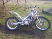 Am selling my sherco bike 07/08 very clean bike