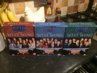 The West wing series 3, 4 and 5