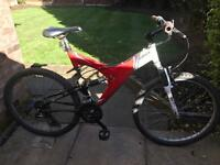 adults btwin rockrider mountain bike