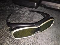 Panasonic TY-EW3D10 3D glasses x4