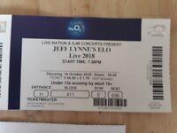 Jeff Lynne's ELO Tickets x 2