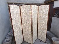 Vintage folding screen in excellent condition.
