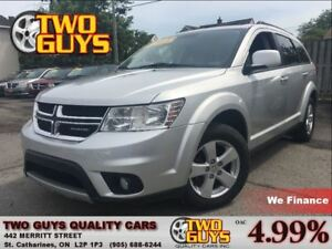 2011 Dodge Journey SXT 7PASS SUNROOF ALLOYS FWD