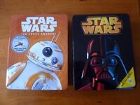 2 x Star Wars Tins with contents