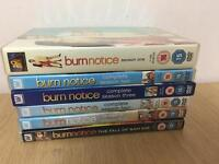 burn notice season 1 - 5 + the film the fall of Sam axe ft Bruce campbell