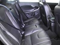 VOLVO V40 D4 [190] R DESIGN LUX NAV [Leather, Bluetooth] 5DR (black) 2015