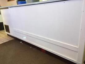 FREE TO UPLIFT - Large refrigerated unit /fridge/workbench/storage