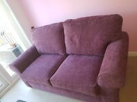 2 seater sofa bed like new