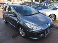 2006/56 PEUGEOT 307 1.6 16V S 5 DOOR GREY,GOOD CONDITION, GREAT SPEC,LOOKS AND DRIVES WELL