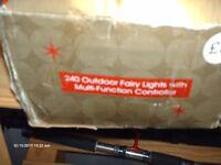 SET OF 240 INDOOR/OUTDOOR FAIRY LIGHTS