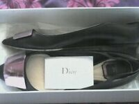preloved Christian Dior flats UK5
