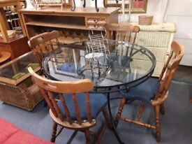 Table and 4 x chairs