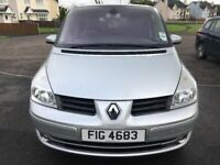 7 Seater Renault Grand Espace 2007 1 yr MOT 125000 miles PRICE REDUCED £2350 ono QUICK SALE WANTED