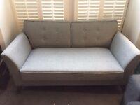 Good condition grey sofa
