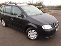 VW Turan 1.6 automatic 7 seats long mot 86k mileage