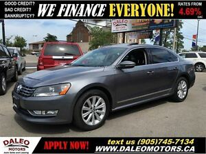 2012 Volkswagen Passat 2.0 TDI Highline LEATHER SUNROOF