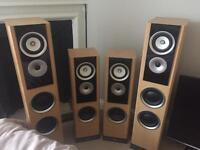 Speakers floor standing x4