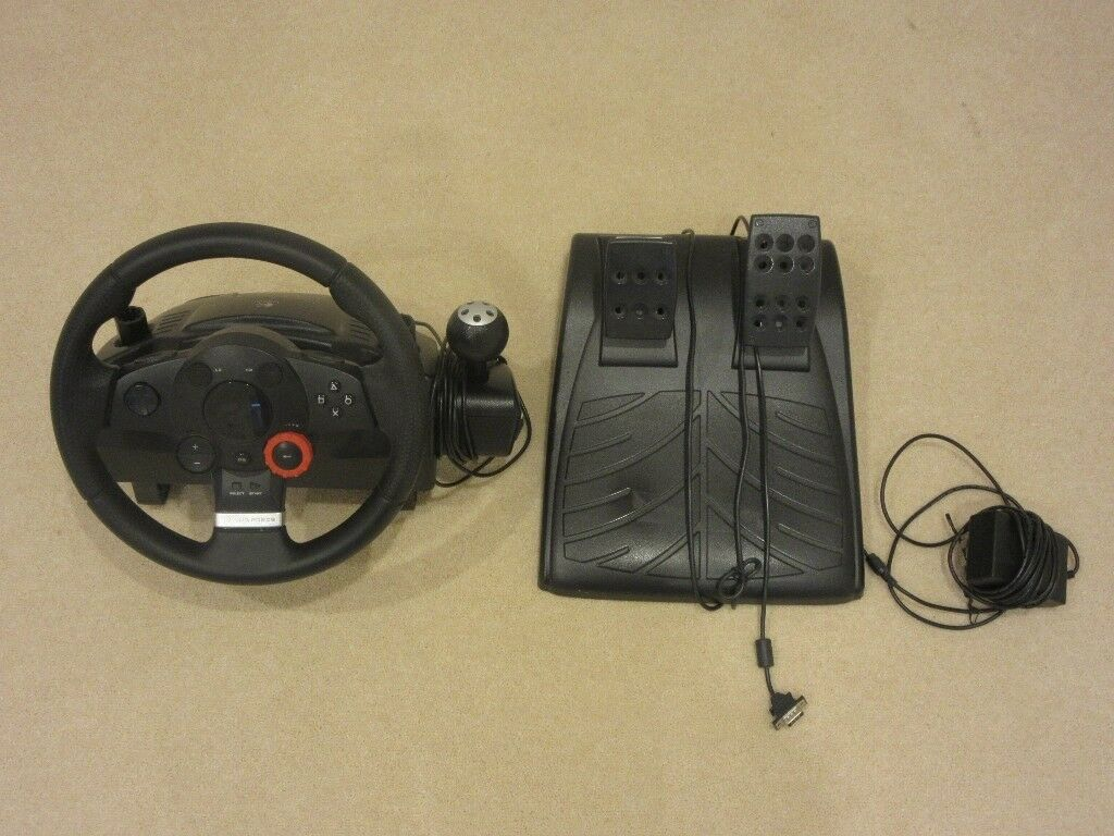 Logitech Driving Force GT Racing Wheel Steering Wheel PC/PS3
