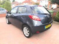 2008 08 Mazda 2 1.4 D TS2 Low Mileage Full MOT £30 Road Tax Diesel Cheap Insurance Pearl Paint