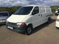 ONG WHEELBASE TOYOTA HIACE SIDE LOADER LOVELY ULTRA RELIBLE VAN CAMBELT CHANGED ANY TRIAL WELCOME