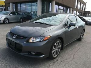 2012 Honda Civic Si WITH SUNROOF & NAVIGATION, 4 NEW TIRES