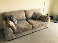 Amazing 3 seats sofa from SCS - perfect conditions - 2 years left on insurance