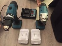 Makita drill (makita drill set ) 2 brand new drill with 2 new Li-ion batteries 3 year warranty £120
