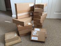 ** FREE ** Recycled Cardboard Posting Boxes (Various)