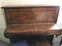 Upright Piano for sale. Buyer collect. £100 or nearest offer.