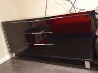 Black gloss sideboard cabinet