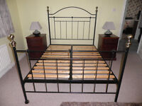Wrought iron Double Bedstead