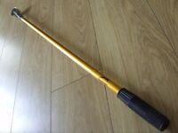 Slazenger 3 - 9 Foot Telescopic Extending Golf Ball Retriever Pick Up Grabber Scoop - Good Condition