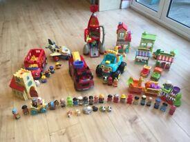 ELC Happyland and Little People toy bundle