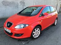 Stunning 2009 09 Seat Altea 2.0Tdi Stylance Mpv **2 Owners+Only 66000+Seat History+Over 60 Mpg!**