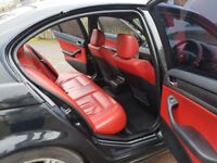 BMW DIESEL AUTOMATIC M3 SHAPE RED LETHER INTERIOR SPOET ONLY £1499